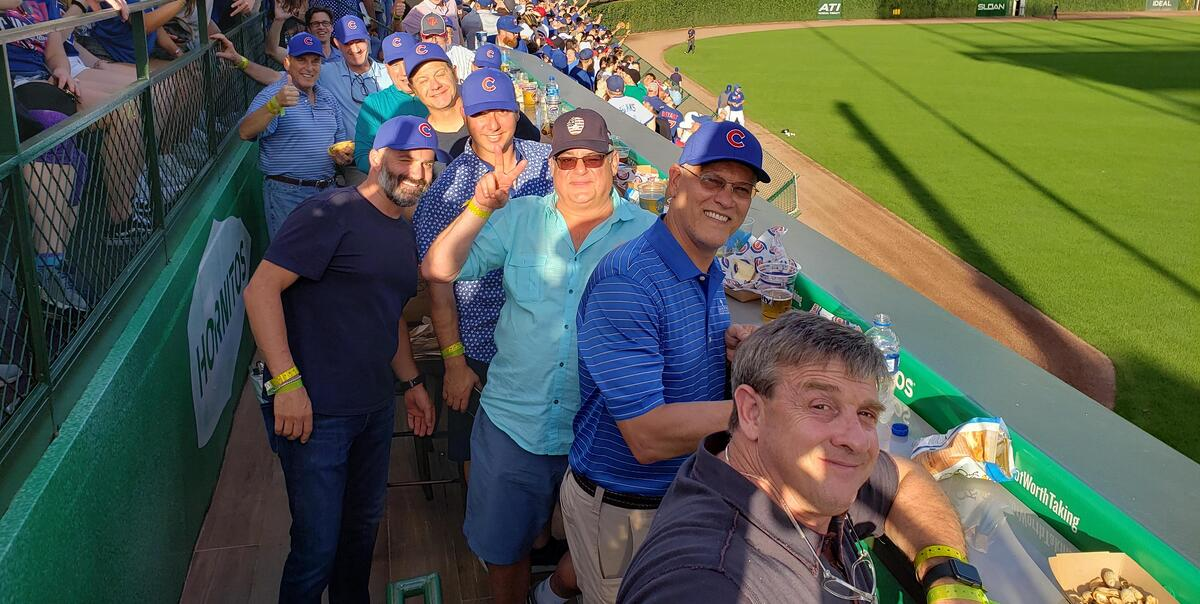 CoCo Agency Council at the Cubs game